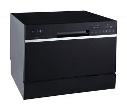 Edgestar 6Place Setting Energy Star Rated Portable Countertop Dishwasher