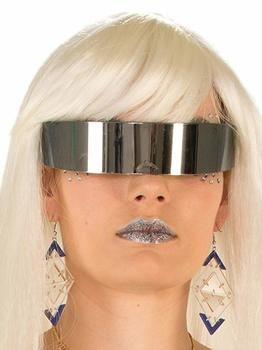 10. Mirror Robot Glass Wrap Around Glasses-Adult one