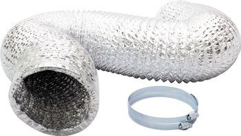 10. iPower Non-Insulated Aluminum Foil Vent Dryer Vent Hoses