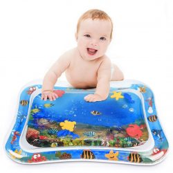 YIZI Tummy time Inflatable Baby Water Mat & Toddlers