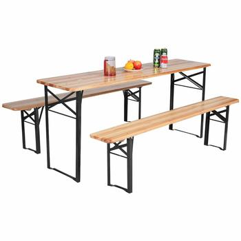 13. Giantex Portable Folding Picnic Beer Table
