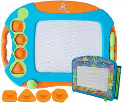 CHUCHIK Best Magnetic Doodle Drawing Board For Kids
