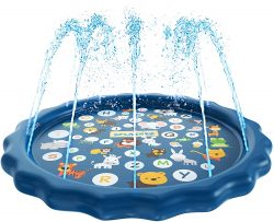 SplashEZ 3-in-1 Sprinkle and Splash Play Pad for Kids
