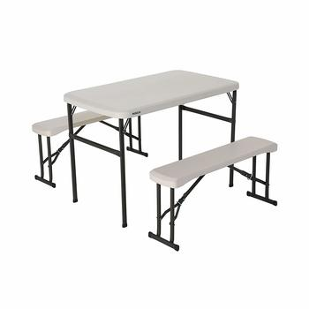 2. Lifetime Portable Folding Picnic Table