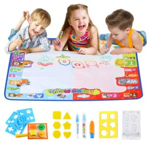 Aqua Doodle Pad Large Educational Water Drawing Mat