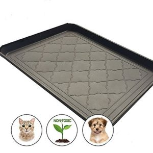 Easyology Premium Pet Food Tray - Dog Food Mat and Cat Food Mat