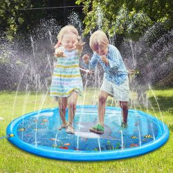 "Water Play Mat, 68"" Sprinkle and Splash Play Mat"
