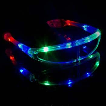 4. Fun Central LED light Up Spaceman Shades - Robot Glasses