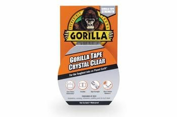 4. Gorilla Crystal Clear Duct Tape