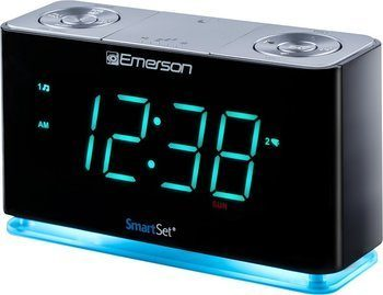 5. Emerson SmartSet Bluetooth Alarm Clocks