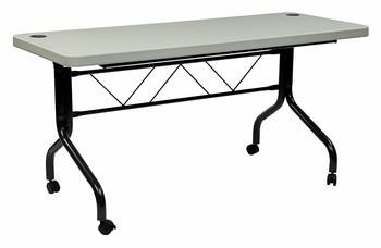 5. Office Star Resin Multi-purposes Folding Picnic Table