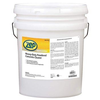 5. Zep Powdered Concrete Floor Cleaner