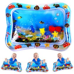 JUOIFIP Inflatable Tummy Time Premium Water Mat