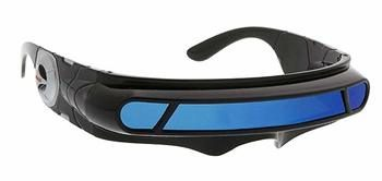 7. Futuristic Robot Glass Cyclops Wrap Around Sunglasses