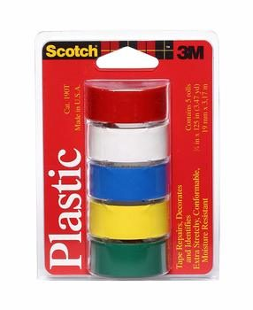 7. Scotch Super Thin Waterproof Vinyl Plastic Colored Tape