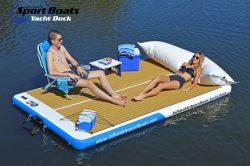Inflatable Sport Boats Yacht Dock