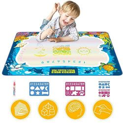Updated 2020 Version Aqua Drawing Mat for Kids