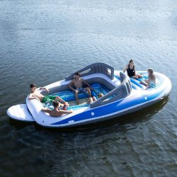 6-Person Floating Fishing Platforms
