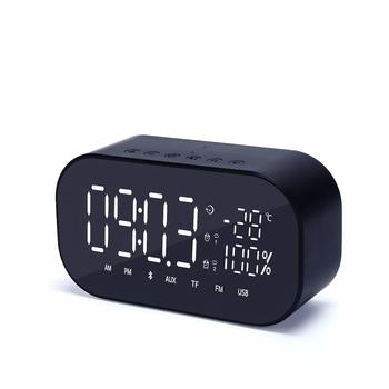 9. FOREV LED Bluetooth Alarm Clocks