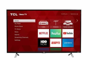 9. TCL 32-inch Roku Smart LED TV