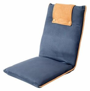 1. bonVIVO Easy II Padded Floor Chairs with Back Support