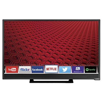 10. Vizio E24-C1 24-Inches 1080p Smart LED TV