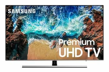 11. Samsung UN65NU8000FXZA Flat 65-inch 4K UHD 8 Series Smart LED TV