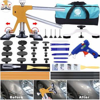 13. GLISTON 45pcs Paintless Dent Repair Tool Dent Puller Kit