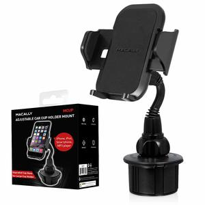 2. Macally Best cup holder phone mount