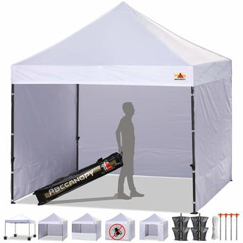 3. ABCCANOPY Canopy Tent Popup Canopy 10x10 Pop Up Canopies