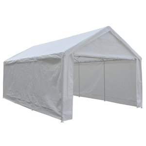 3. Abba Patio 12 x 20-inch Heavy Duty Carport