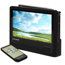 3. Eviant 7-Inch Handheld LCD Portable TV