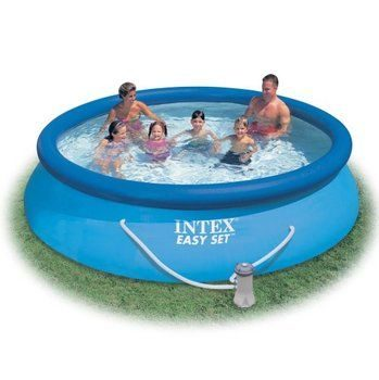 3. Intex Easy Set 12-Foot by 30-Inch Round Pool Set