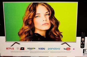 3. Sharp 55-inch Class 4K (2160P) Smart LED TV