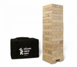 4. Yard Games Giant Tumbling Timbers