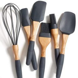 5. Baking Utensil Set – Beech Wood & Silicone
