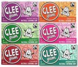 5. Glee Gum 6-Flavor Variety Pack