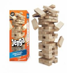 5. Jenga Game Giant Genuine Harwood Game