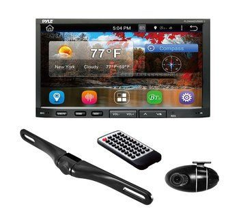 5. Premium 7In Double-DIN Android Car Stereo Receiver with Bluetooth