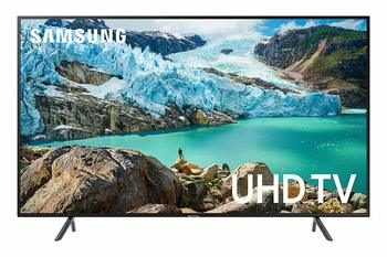 5. Samsung UN55RU7100FXZA Flat 55-Inch 4K UHD 7 Series Ultra HD Smart TV