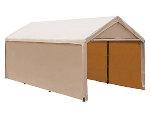 6. Abba Patio 10 x 20 ft Heavy-Duty Carport