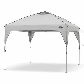 6. CORE 10' x 10' Instant Shelter Pop-Up Canopy Tent with Wheeled Carry Bag