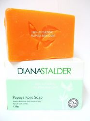 6. Diana Stalder Papaya Kojic Acid Whitening Soap