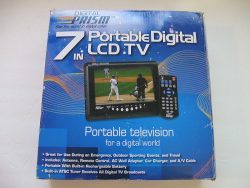 6. Digital Prism Portable Handheld LCD TV