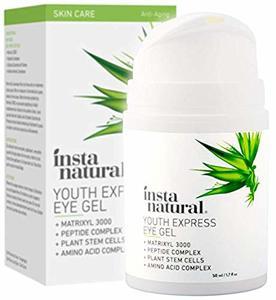 6. InstaNatural Eye Gel Cream