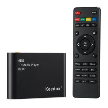 6. Keedox mini multi Digital Media Player