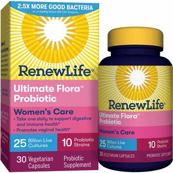 6. Renew Life Women's Probiotic