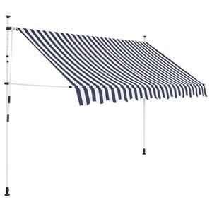 6. Tidyard Manual Retractable Sun Shade