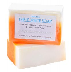 7. Kojic Acid Placenta Triple Whitening Soaps