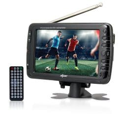 8. Axes Widescreen LCD Portable TV